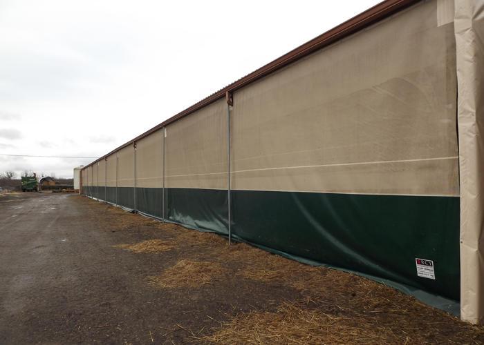 Rideau Gascon brise vent pour l'agriculture
