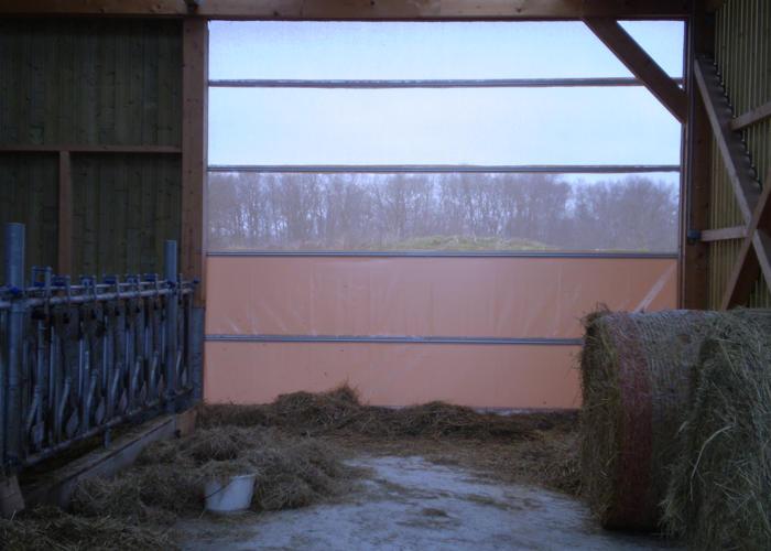 Rideau pour l'agriculture Aubrac
