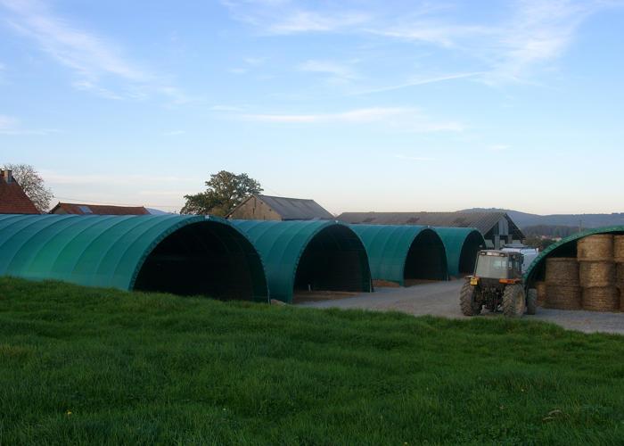 Tunnel agricole monastère 9.3 mètres