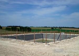 geomembranes et bassin de rétention enterré par RCY